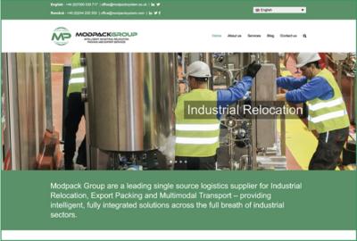 El grupo Modpack lanza un renovado sitio web como parte de su crecimiento en la región de Reino Unido