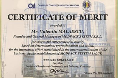Félicitations à Monsieur le Président de Modpack System Group