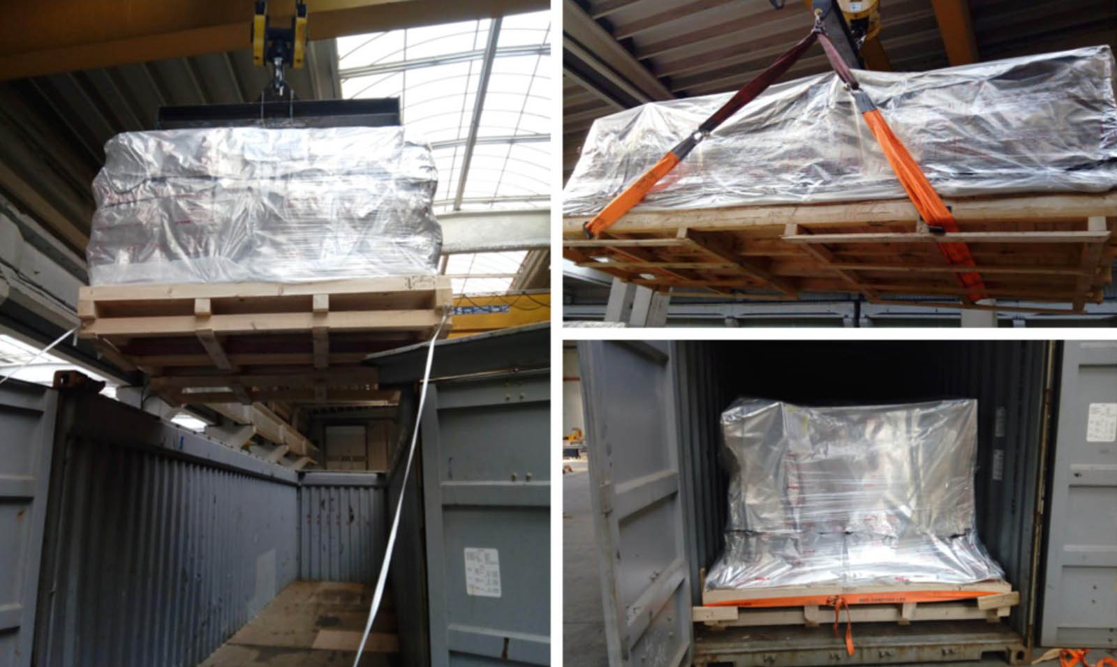 Export packing and lashing