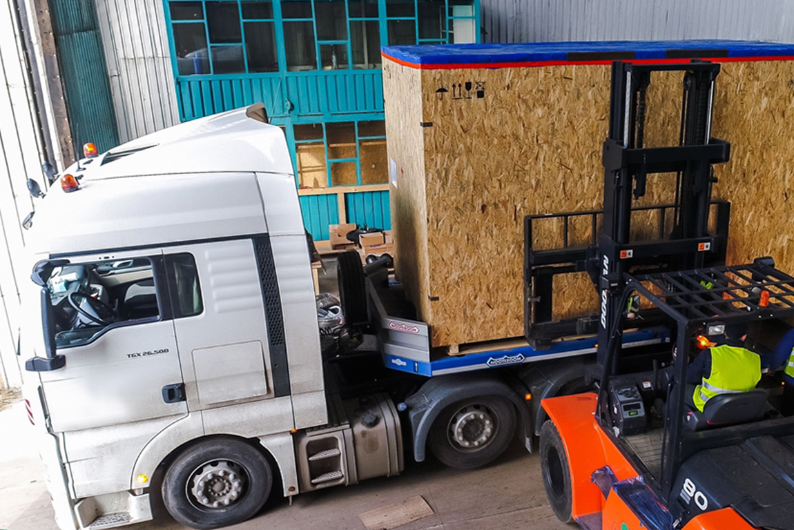 export packing transport