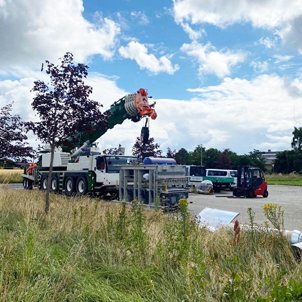 Machinery Moving Denmark