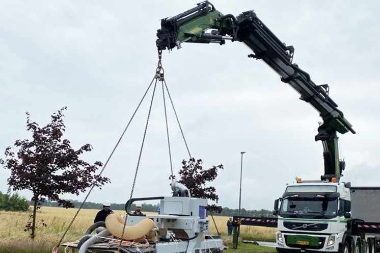 Machinery Moving Denmark